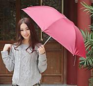 складной зонт Защита от ультрафиолетовых лучей зонтик туризма цвета случайным