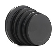 Metal Lens Filter Front Rear Cap Protective Portable Box 52/55/58/62/67mm