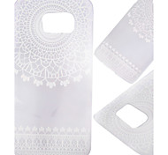 caja de la flor patrón PC Phone material para el borde s7 / Samsung Galaxy s7