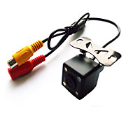 170° Mini CCD Reversing Backup Car Front Rear View Camera Night Vision 12V