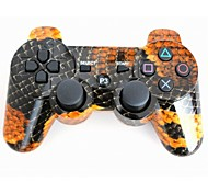 palanca de mando sin hilos del bluetooth sixaxis dualshock3 gamepad controlador recargable para Sony PS3