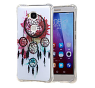 Dream wind chimes Grainy Inner Shockproof Air as TPU soft shell cover Case for Huawei Honor 5X