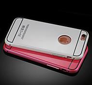 Metal Frame Nano Waterproof  Dustproof Anti-Fingerprint Coating Backplane Phone Case for iPhone 6/6S(Assorted Colors)