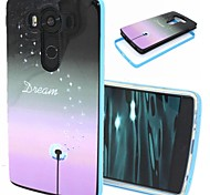 2-in-1 Dream Pattern TPU Back Cover with PC Bumper Shockproof Soft Case for LG V10/G4 Pro