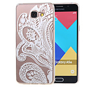 Hollow Flower New Soft TPU Back Case Cover For Samsung Galaxy A3 (2016) A310 A310F/A5(2016) A510 A510F-4