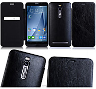 Flip Leather  cellphone card wallet Case Cover for ASUS Zenfone2 ZE551ML 5.5""