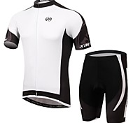Bike/Cycling Shorts / Jersey + Shorts / Clothing Sets/Suits Men's Short SleeveBreathable / Ultraviolet Resistant / Moisture Permeability