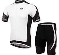 Kleidungs-Sets/Anzüge ( Weiß ) -für Atmungsaktiv / UV-resistant / Feuchtigkeitsdurchlässigkeit / Videokompression / Schweißableitend -