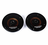 "Pair 5.4"" Dia 2-way Coaxial Speakers 20 Watt Black for Auto Car Audio"