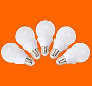 5 PC fsl® E26 / E27 5 W 10 lm SMD 3528 350 blanco cálido / blanco frío g globo bombillas de 220-240 V CA