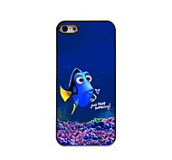 Keep Swimming pattern Aluminum Hard Case for iPhone 5/5S