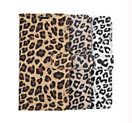 Leopard Print Style With Plug-in Card Wallet Holder Case For Galaxy S6/S6 edge/S6 edge plus (Assorted Color)