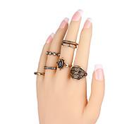 l'anneau de gemme de cristal fin nouvelle de la mode avec boîte d'emballage