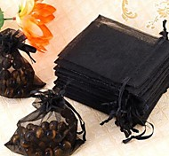 Organza Drawstring Jewellery Wedding Gift Bag Pouch black Cool and fashionable jewellery fittings