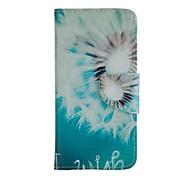 disegno colorata custodia cellulare cuoio dell'unità di elaborazione tra cui anti-polvere spina stilo per Huawei p8 lite
