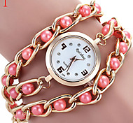 Ladies' Watch New Ladies Watch Color Pearl Bracelet Watch