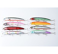 "8pcs pcs Pececillo Colores Aleatorios 15.6g g/5/8 Onza,125 mm/4-3/4"" pulgada,Plástico duroPesca de Mar / Pesca de agua dulce / Pesca de"