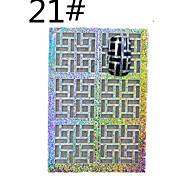 1PCSNew Mixed Hollow Stickers  Reusable Nail Art  Tools  STZ-K21/22/23/24  STZ-K(1-24)