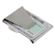 Stainless Steel Card Holder Money Clip