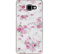 Small Pink Flowers Pattern TPU Material Phone Case for Samsung Galaxy A310/A510/A710/A9