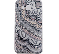 Para Funda Samsung Galaxy Diseños Funda Cubierta Trasera Funda Flor TPU Samsung J5 / J1