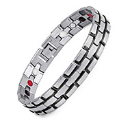 Magnetic Therapy Bracelet Stainless Steel Health Care Elements Chain Bracelet Fashion Jewelry