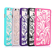 Morning Glory Color Relief Mobile Phone Protection Shell Chinese Style for iPhone 6/6S 4.7""