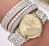 relógio de genebra cheia de diamantes pulseira relógio de quartzo das senhoras