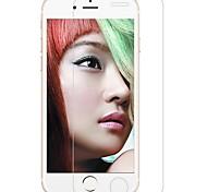bordo arrotondato protettore 9h schermo in vetro temperato trasparente per iPhone6 / 6s / 6 Puls