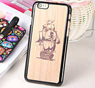 The Pirate Ship PC 3D Printing Carving Hard Back Case for Iphone6/6s