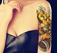 1 Tatuagens AdesivasSéries de Jóias Séries Animal Série Florida Séries Totem Outros Série romântica Série mensagem branco Série Série