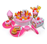 Fruit Cake Milk/Chocolate Cutting/Decorating Pretend Play Toys DIY Toys Set(73 pcs)