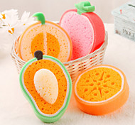 frutta a forma di pulizia spugna (colore casuale)