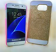 Flash em pó caixa do telefone pc para Samsung Galaxy S7&galáxia S7 bordo (cores sortidas)