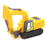 ZPK03 64GB Yellow Excavator USB 2.0 Flash Memory Drive U Stick