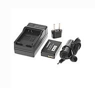 ismartdigi  LP-E12 7.4V 1200mAh Camera Battery +EU Plug+Car Charger for Canon EOS M M2 M10 100D