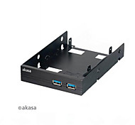 "Akasa AK-HAD-06BKV2 2.5"" SSD & HDD Adapter With Two USB 3.0 Ports"