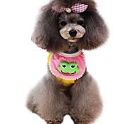 Dog Collars Adjustable/Retractable Green / Pink / Yellow Sponge
