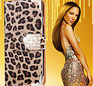 Luxurious Leopard Grain Leather Full Body Case For Samsung Galaxy S3/S4/S5/S6/S6 Edge/S6 Edge+/S7/S7 Edge
