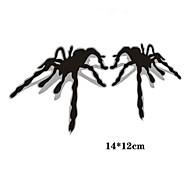 Funny 3 d spider Car Sticker Car Window Wall Decal Car Styling (2pcs)