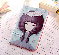 Little Girl Series Three PU Leather Full Body Case With Stand for iPad Mini 3/2/1