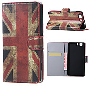 UK Flag Magnetic PU Leather wallet Flip Stand Case cover for DOOGEE X5