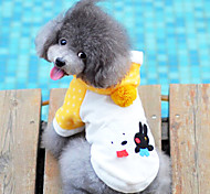 Dog Coat Yellow Winter Fashion