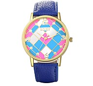 Authentic moment Leather watch Waterproof Watch men/women Watch quartz watch gold case 4 band Color WH0006A