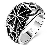 Ring Jewelry Steel Classic Black Jewelry Casual 1pc