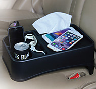 TIROL Car Seat Tray Multi Tray Drink Food Cup Tray Holder Stand Table Auto Travel Food Cup Holder and Seat tray