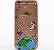 Space Pattern TPU Soft Case Phone Case iPhone 6/6S