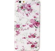 Small Pink Flowers Pattern TPU Material Phone Case for iPhone 6/6S