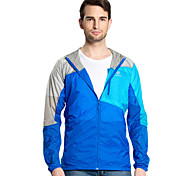 Men Outdoor Sport Windbreaker Waterproof Sun & UV protection Movement Lightweight Quick-dry Hiking Skin Jacket