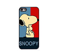 Snoopy Pattern Aluminum Hard Case for iPhone 5/5S